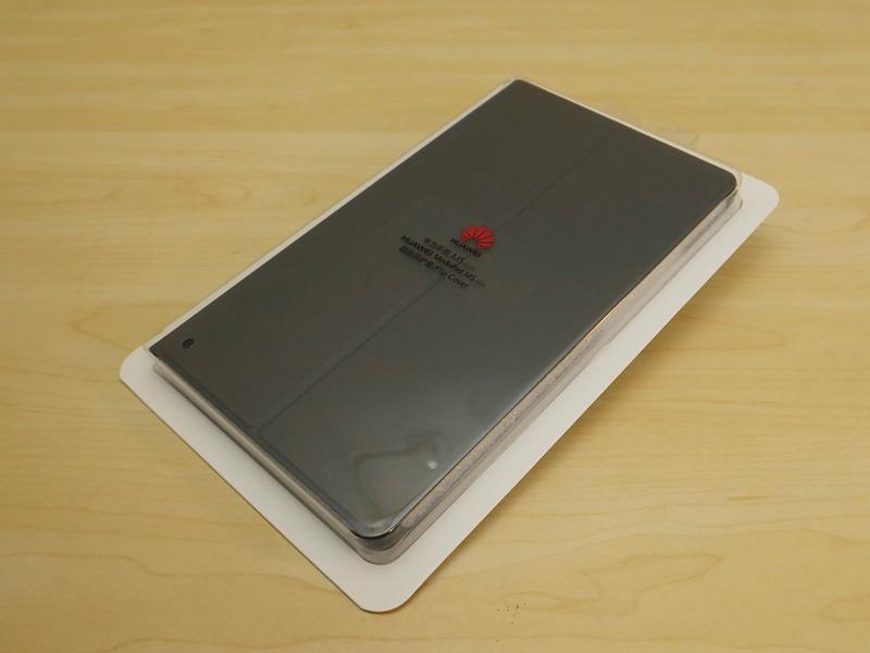 MediaPad M5専用ケースも同梱される