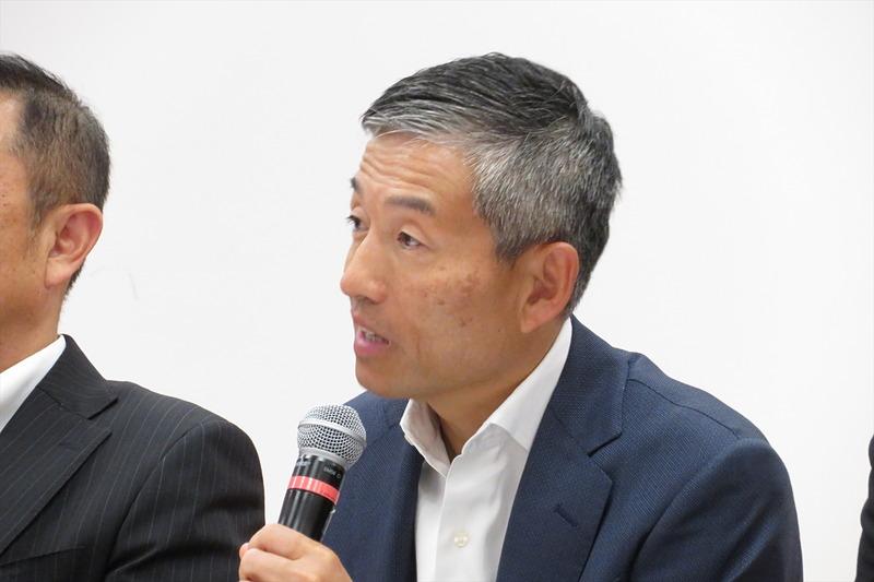 楽天 副社長執行役員 通信&メディアカンパニー プレジデントの山田善久氏