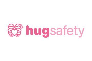 「hugsafety」のロゴ