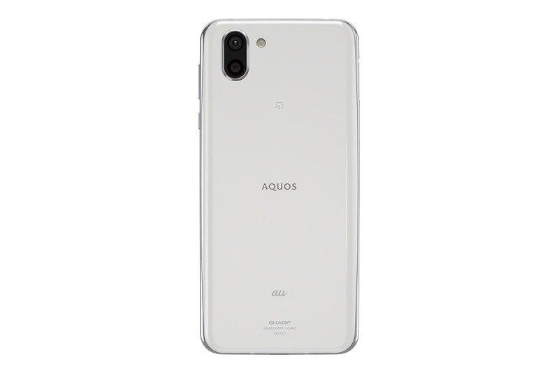 「AQUOS R2 SHV42」プラチナホワイト