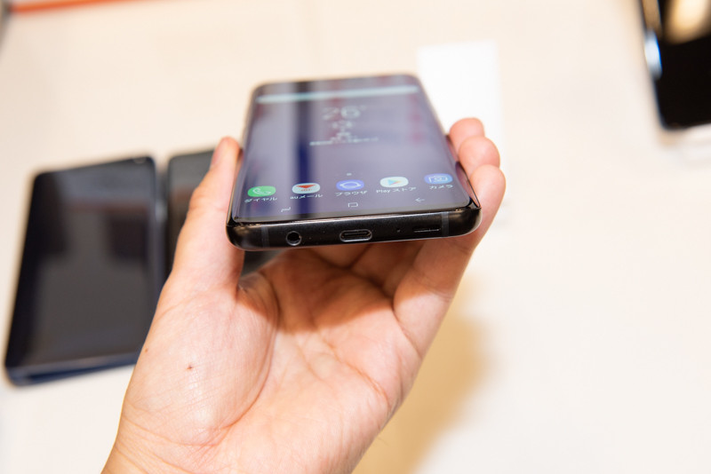 「Galaxy S9+ SCV39」ミッドナイトブラック