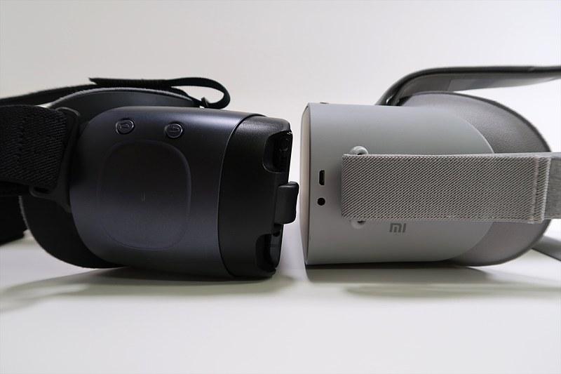 Gear VRの右側面にはタッチパッドも備わっている
