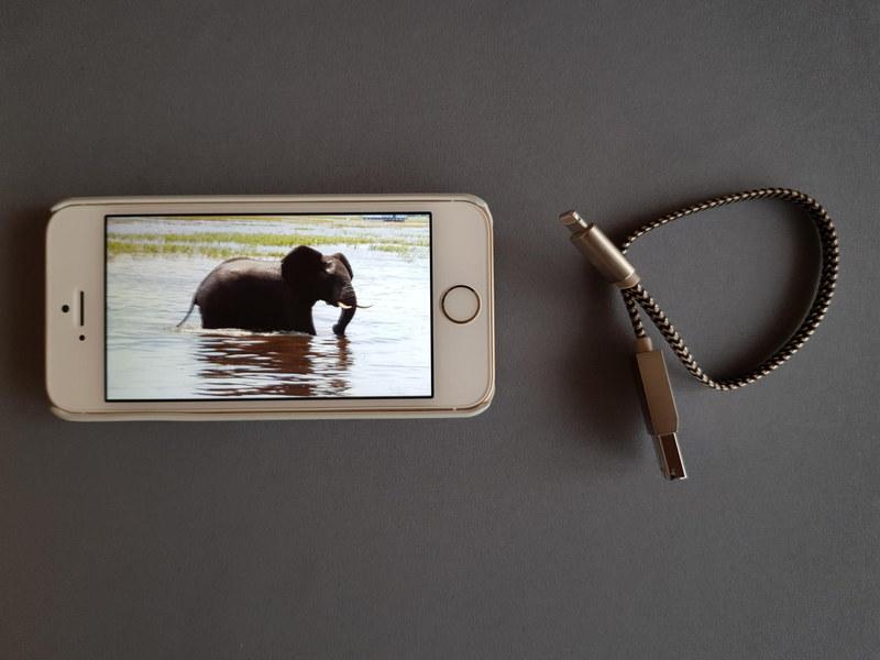 iPhoneネイティブのアプリでは再生できなくても、iUSB Proではコピーした動画は全く問題なく再生できる