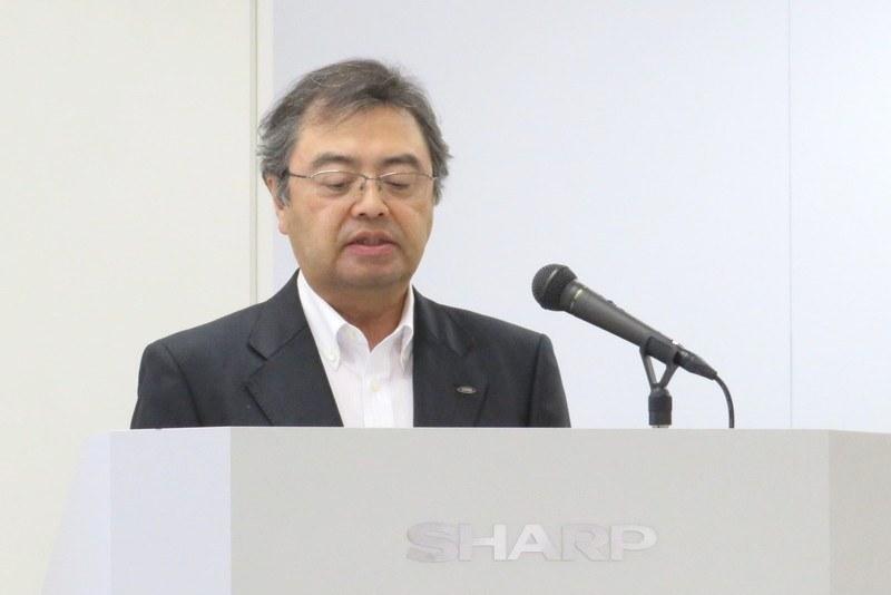 シャープ 専務執行役員 スマートホームグループ長兼IoT事業本部長 長谷川 祥典氏