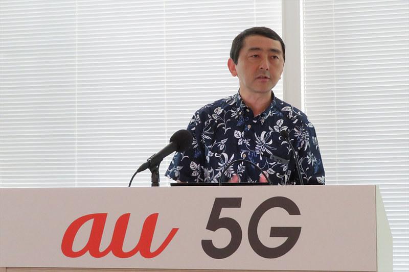 KDDI モバイル技術本部 シニアディレクターの松永彰氏