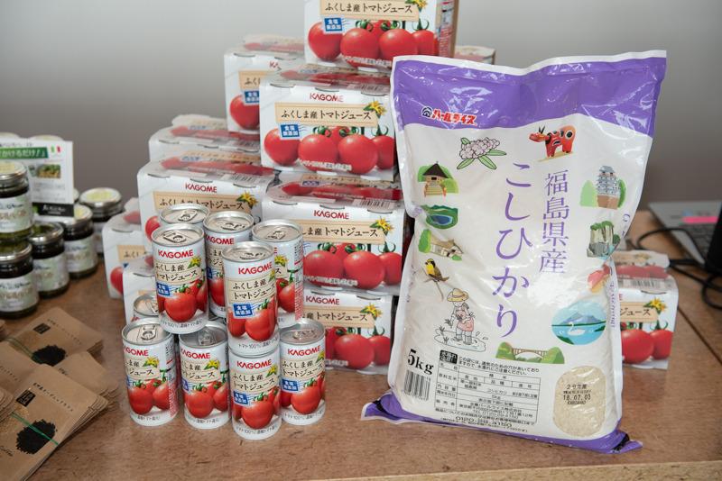 Nipponストアの福島県と熊本県の産品