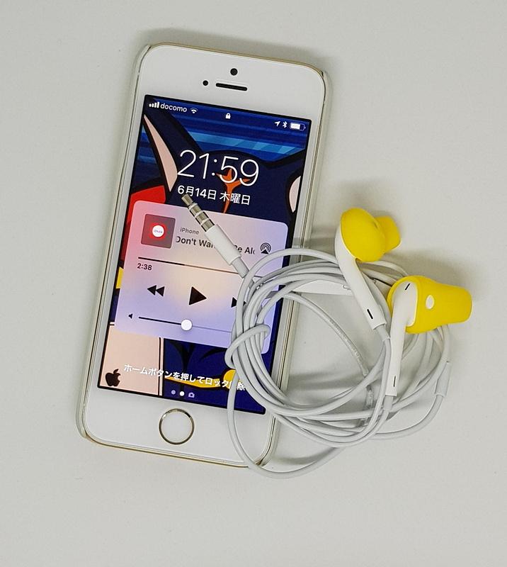 ワンコとのお散歩スマホであるiPhone SEでもEarPodsで音楽を聴けるようになった