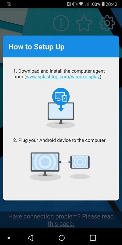 セットアップ手順の説明画面。PCに専用ソフトをインストールし、USBケーブルで接続するだけ