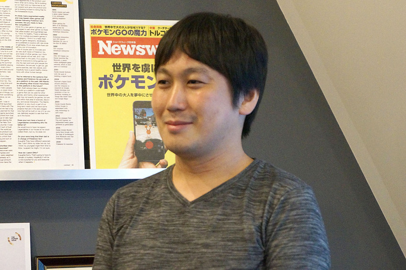 ドワンゴ出身の川平航介氏。野村氏にとっては同じ信州大学で同じ学部の先輩にあたる。2009年、ドワンゴに入社。ニコニコ生放送のリニューアルのリードなどを担当した。個人的に制作したニコニコのAndroidアプリが150万DLを記録し、社内でのAndroidアプリ開発に繋がった。ナイアンティックのTokyo Studioではソフトウェアエンジニアとして活動する
