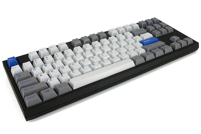 購入した「WASD V2 87-Key Doubleshot ABS GMK True Olivetti Mechanical」。「WASD V2 Mechanical Keyboard」シリーズのUS配列87キーのメカニカルキーボードです。キーキャップのカスタマイズはできず、キースイッチ種類・ケース色・ダンパー有無のみカスタマイズ可能。基本価格はUS245ドル。