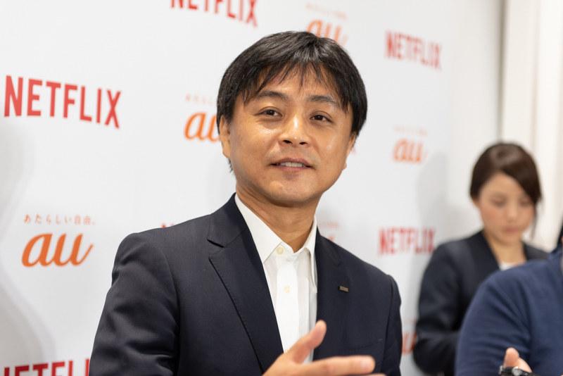 KDDI ライフデザイン事業本部 エンターテインメントビジネス推進部長の宮地悟史氏