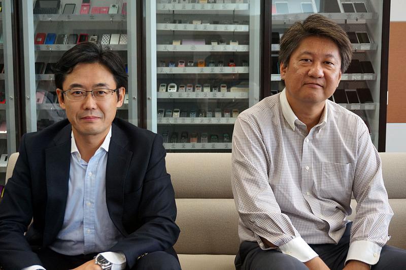 松田氏(左)と多田氏(右)