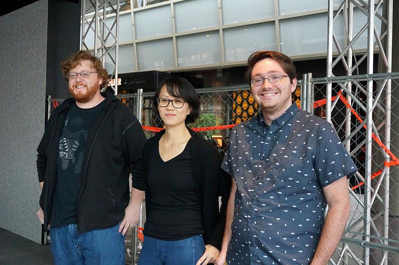 Diana Hu氏(中央)らエッシャーリアリティからナイアンティクへジョインしたメンバー
