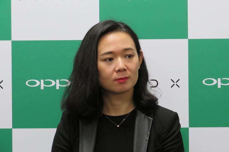 グループインタビューでは加えて、OPPO Mobile Telecommunications 海外市場プロダクトディレクターの党壮丽(トウ・ソウレイ)氏も応じた