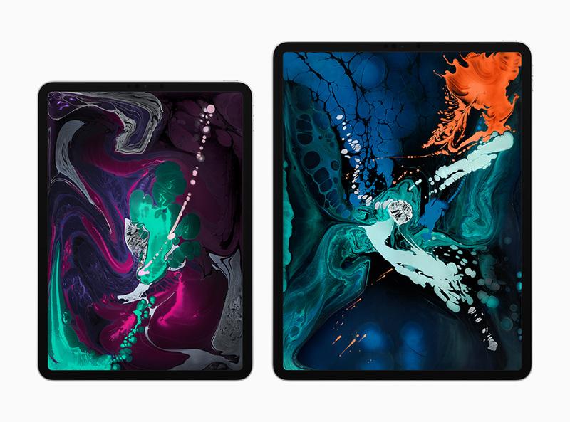 新しい「iPad Pro」11インチモデルと12.9インチモデル
