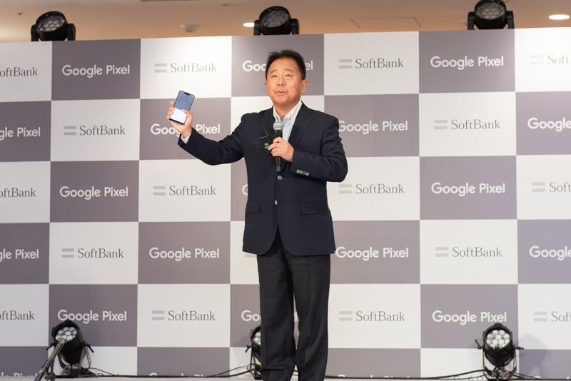 ソフトバンク 代表取締役 副社長執行役員兼COOの榛葉淳氏