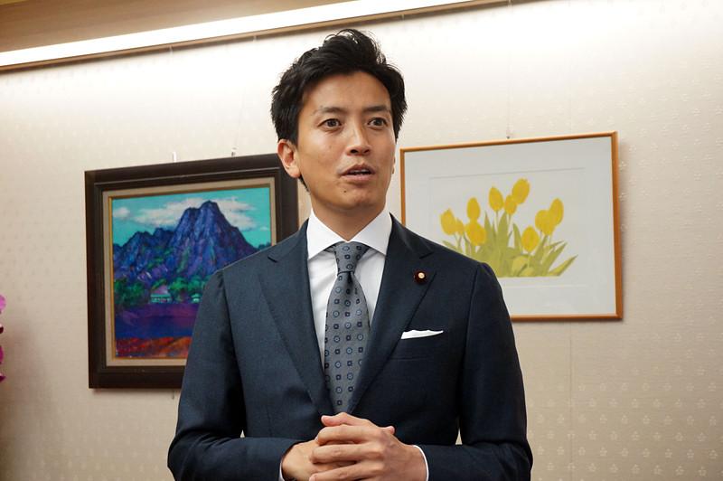 小林議員(2018年10月、政務官在任時に撮影)