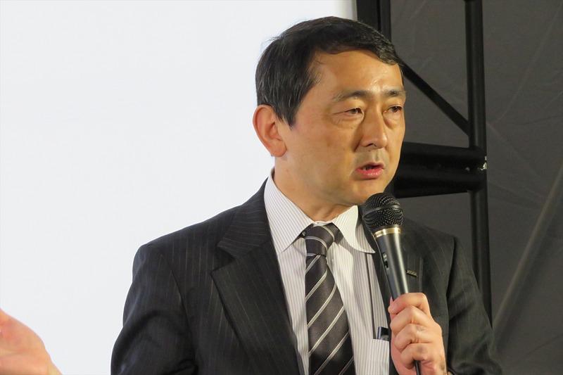 KDDI 技術統括本部 モバイル技術本部 シニアディレクターの松永彰氏