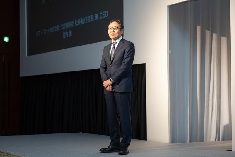 ソフトバンク 代表取締役 社長執行役員 兼 CEOの宮内謙氏
