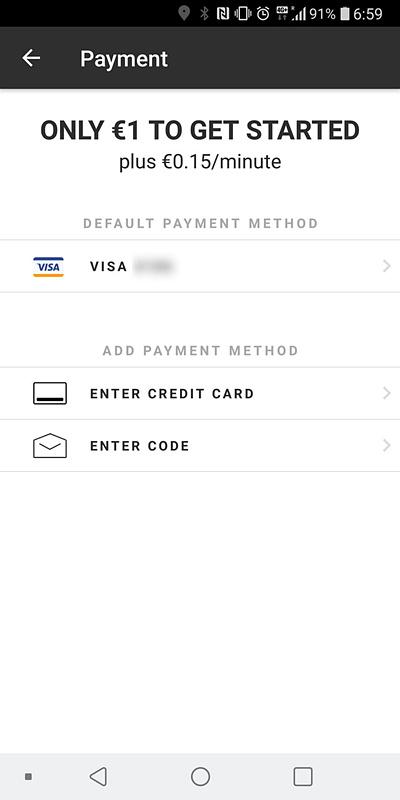 クレジットカードを登録しておく