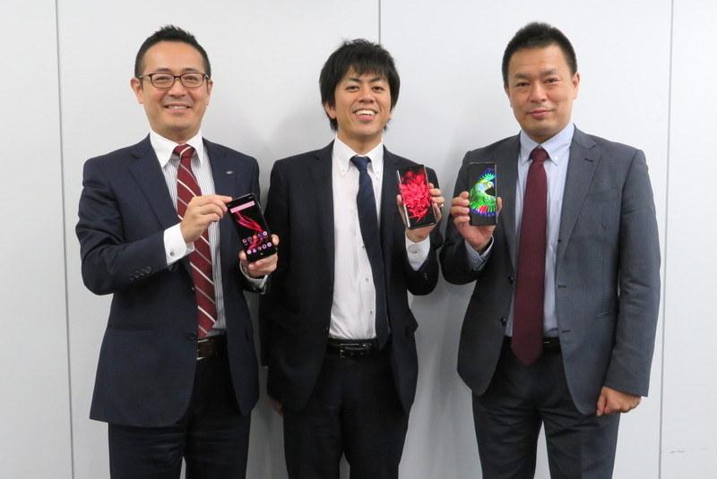 左から、小林繁氏、篠宮大樹氏、前田健次氏