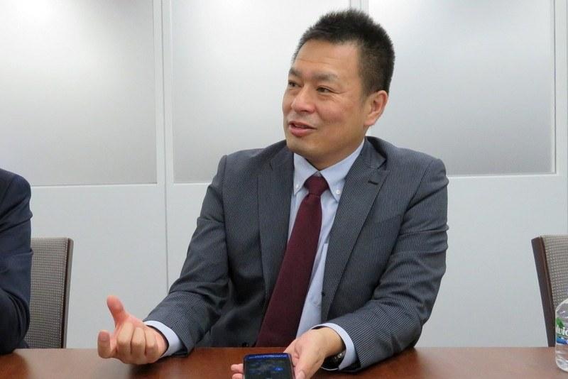 シャープ 通信事業本部 パーソナル通信事業部 システム開発部長 前田健次氏
