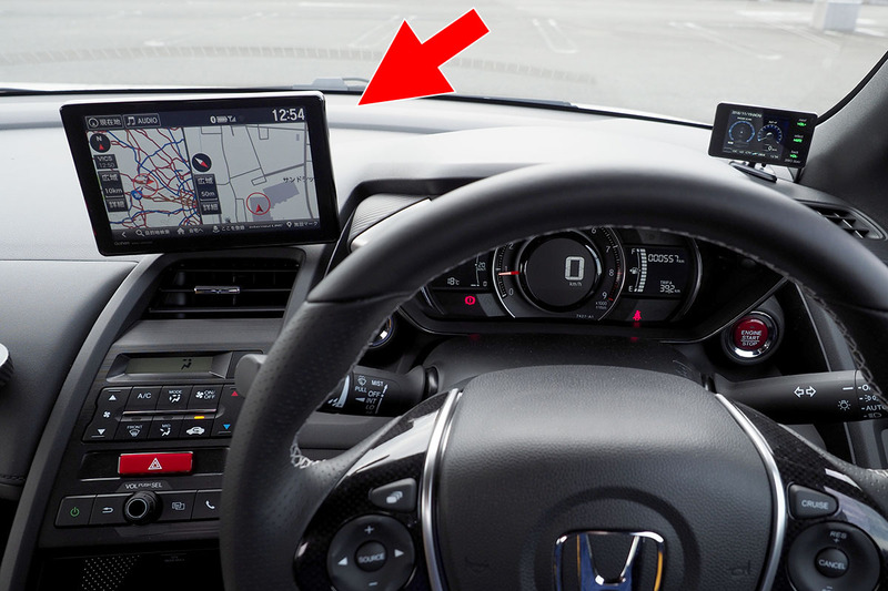 筆者のS660に搭載されている純正ナビ。リンクアップフリーにより無料でネットに接続するインターナビです。「internavi LINC」メニューから、各種通信系サービスを使えます。アプリや会員サイトで登録した情報を読み出せたり、希望条件で駐車場を探せたり。
