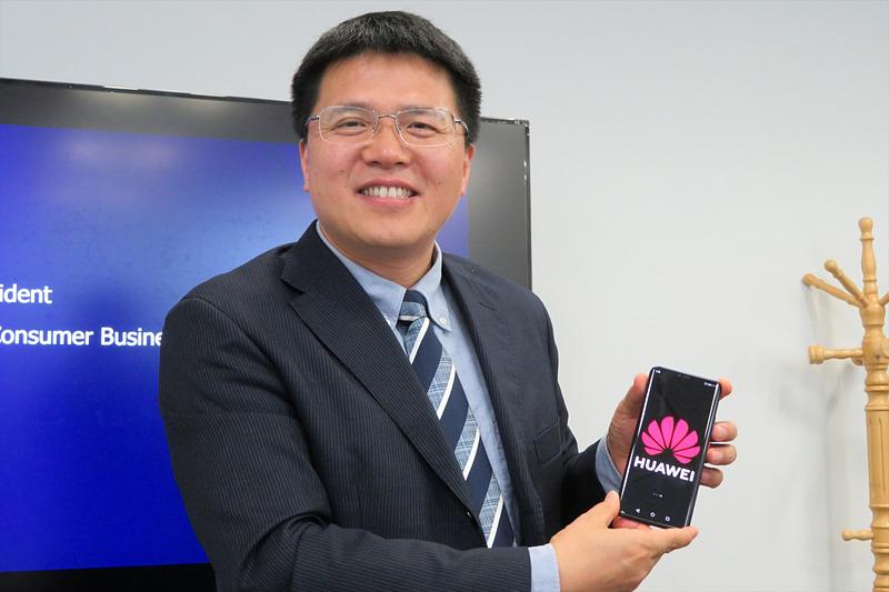 ファーウェイのConsumer Business GroupのVice PresidentであるJim Xu氏