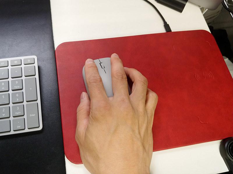 Surface Mouseを使っていると次第に小指と薬指が痛くなってくるのはなぜなのか