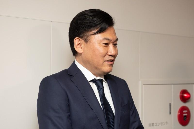 1.7GHz帯の免許を付与されMNO新規参入について語った三木谷氏(2018年4月)