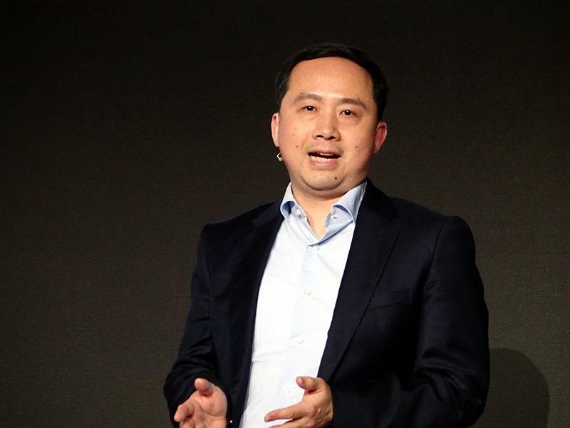 5Gに関する取り組みを説明したHenry Tang氏