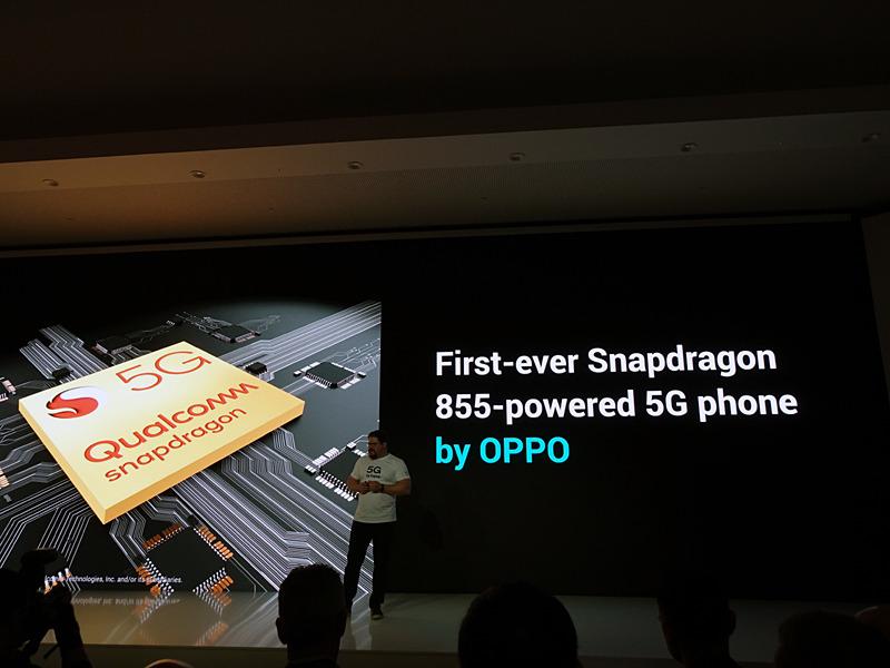 Snapdragon 855を搭載した世界初の5Gスマートフォンは、OPPOのものになるという