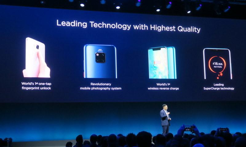 ファーウェイはこれまで数多くの先端技術をいち早くスマートフォンに搭載してきた