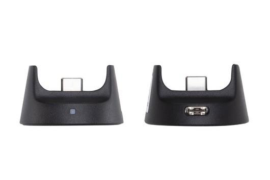 DJIのOsmo Pocket ワイヤレス モジュール。直販価格は税込7600円。えっ? ナナセン……? 本来はOsmo PocketをWi-Fi接続対応にしてスマホから無線コントロールするためのアクセサリーですが、充電機能付きスタンドとしても使えます。このWi-Fiモジュールを買う予定がある方はスタンドを別途買う必要がないということで、一応ご紹介。