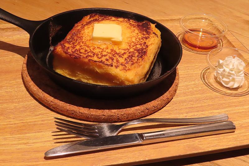 一番人気のフレンチトースト(600円)
