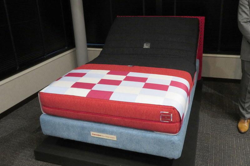 睡眠モニタリング機能付きマットレス「RP-5000SE」