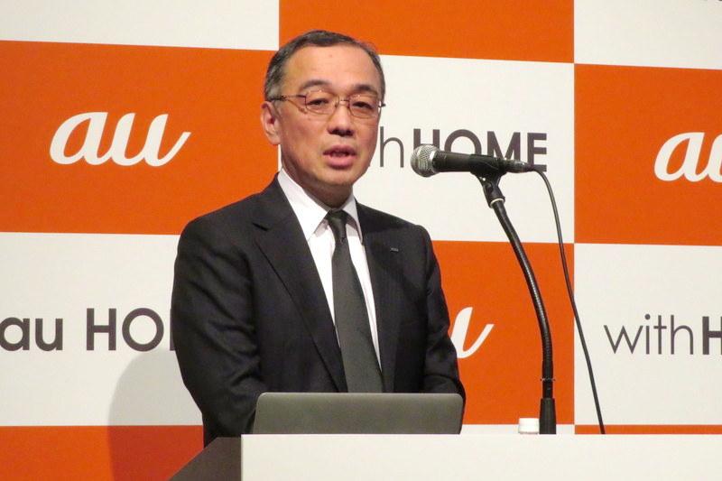 KDDI 理事 商品・CS統括本部 副統括本部長 山田 靖久氏