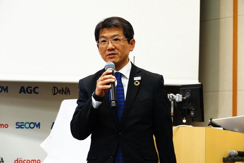 セコム 執行役員 企画担当 上田理氏