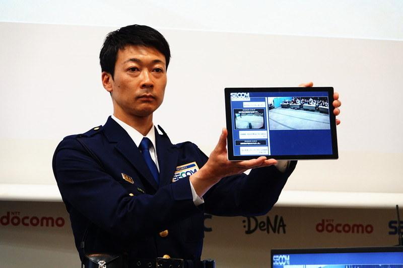 タブレット端末などでも監視画面を表示することが可能