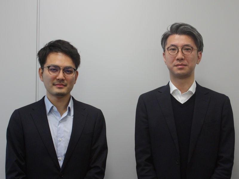 ソフトバンク 先端技術開発本部 山田 大輔氏(左)、須田 哲生氏(右)