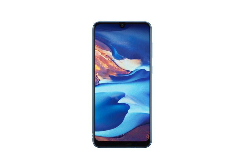 「Galaxy A30 SCV43」ブルー
