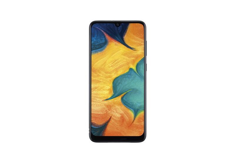 「Galaxy A30 SCV43」ブラック