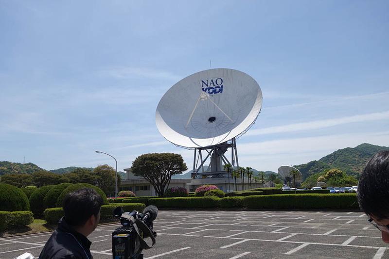 国立天文台(NAO)に譲渡された第1電波望遠鏡