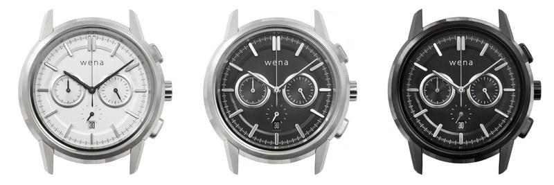 wena wrist Chronograph Classic head