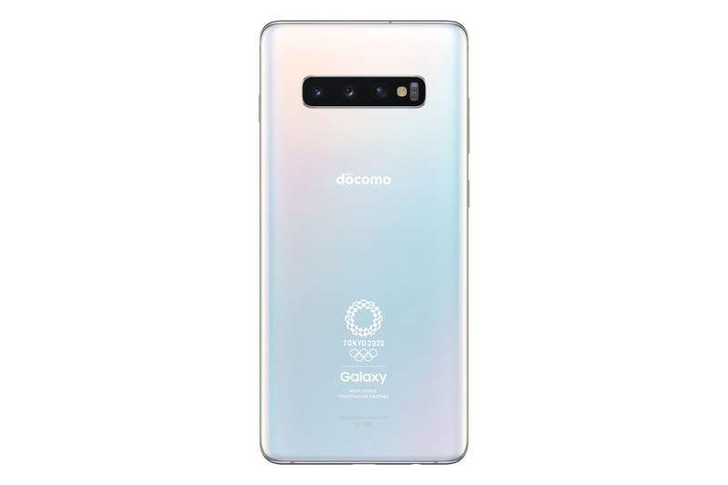 「Galaxy S10+ Olympic Games Edition SC-05L」