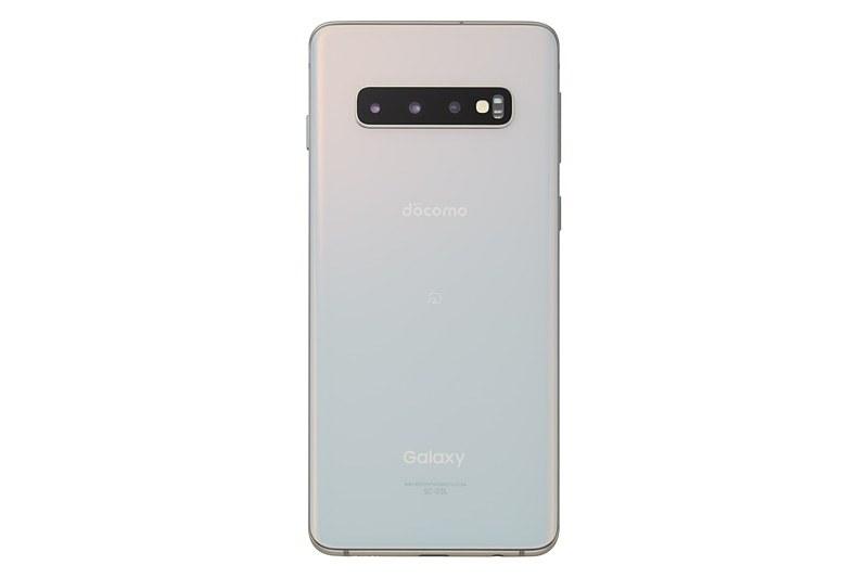 Galaxy S10 SC-03L(プリズムホワイト)