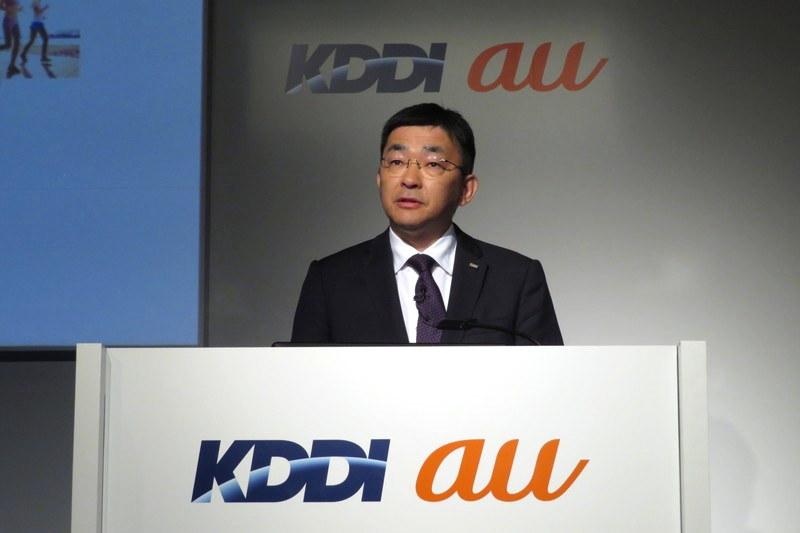 KDDI 代表取締役社長 高橋誠氏
