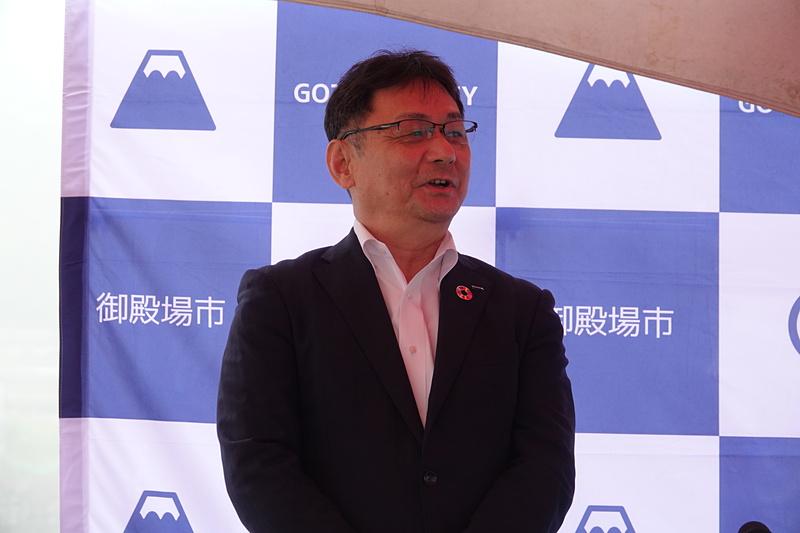 KDDI 理事・中部総支社長 渡辺道治氏
