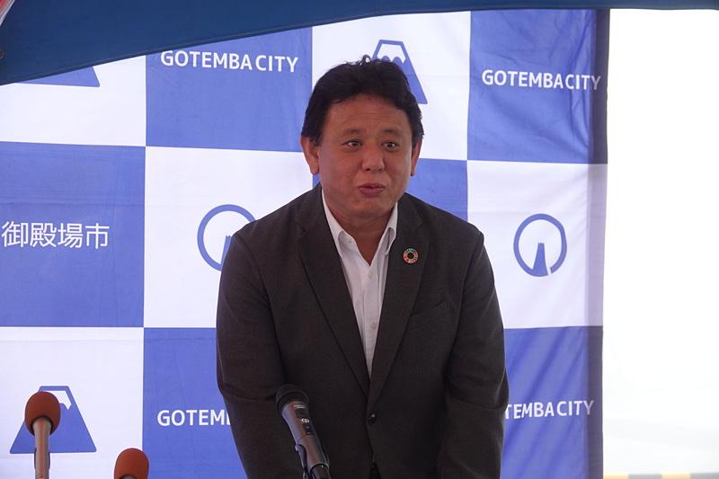 静岡県御殿場市 副市長 瀧口達也氏