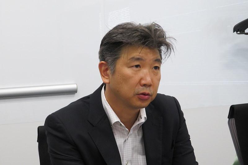 FCNT 事業本部 プロダクト事業本部 事業部長 白井宣彦氏